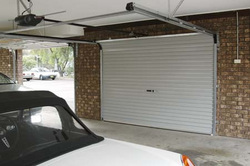 An example of the Roller Door Doctor's flex-a-doors in Adelaide.
