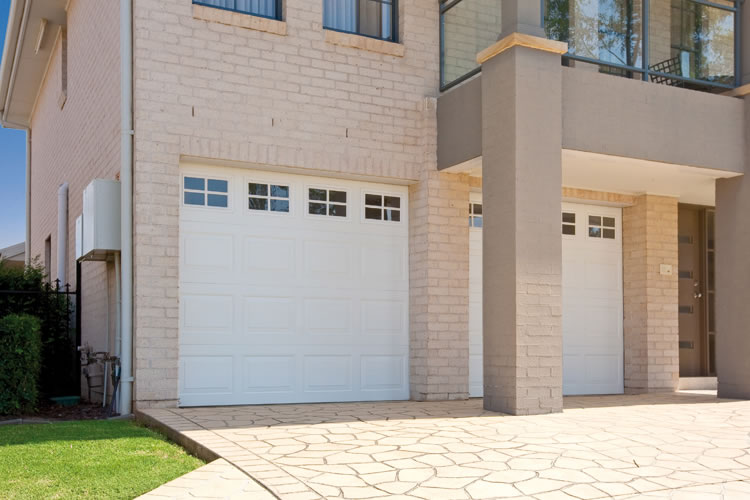 An example of the Roller Door Doctor's sectional doors in Adelaide.